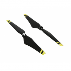 DJI E600 self-tightening propeller pair with yellow...