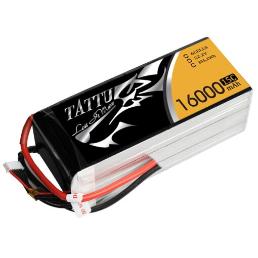 Gens Ace Tattu 6S 16000mAh 15C (Germany only - hazardous)