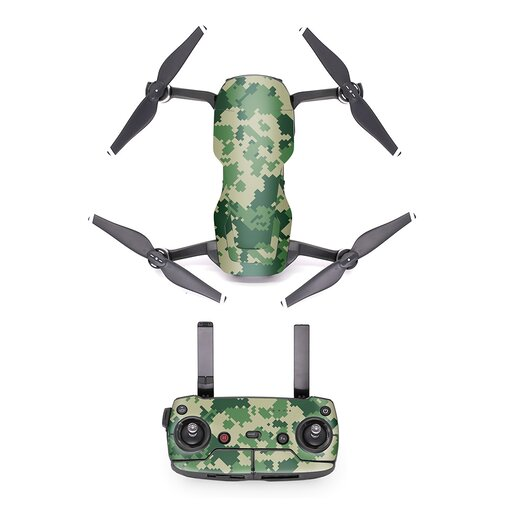 PGYTECH - DJI Mavic Air - Decal Camo Green