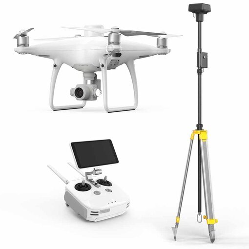 DJI Phantom 4 RTK (+ Optional Mobile Station)