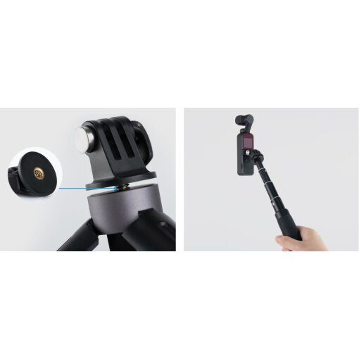 PGYTECH - DJI Osmo Pocket Universal Mount Kit